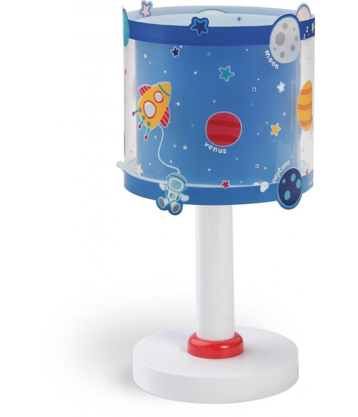 Candeeiro infantil de mesa Planets