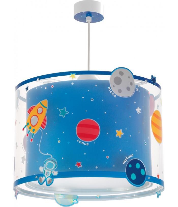 Candeeiro infantil de tecto com planetas Planets