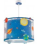 Children hanging lamp Planets