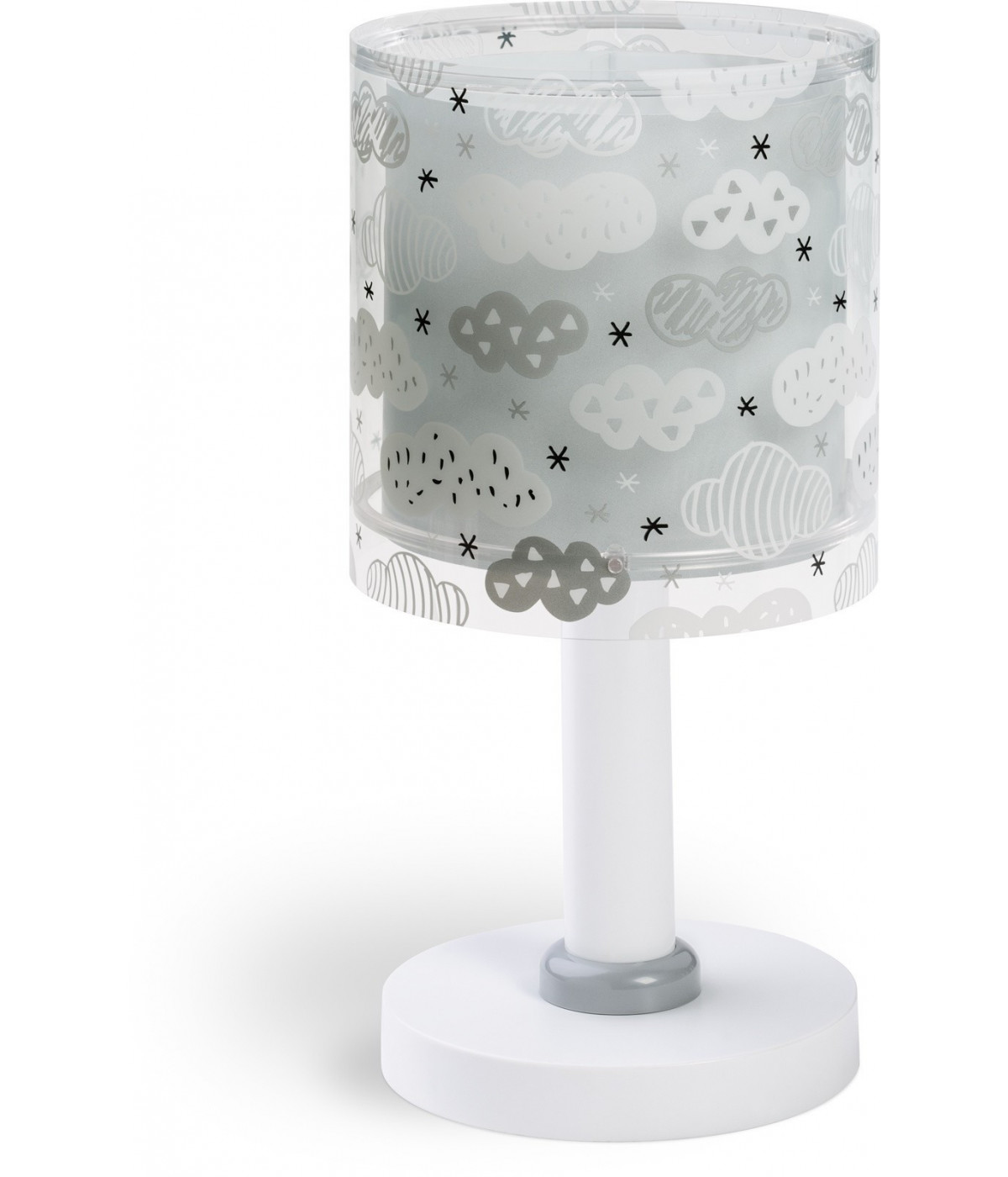 Children Table lamp Clouds grey