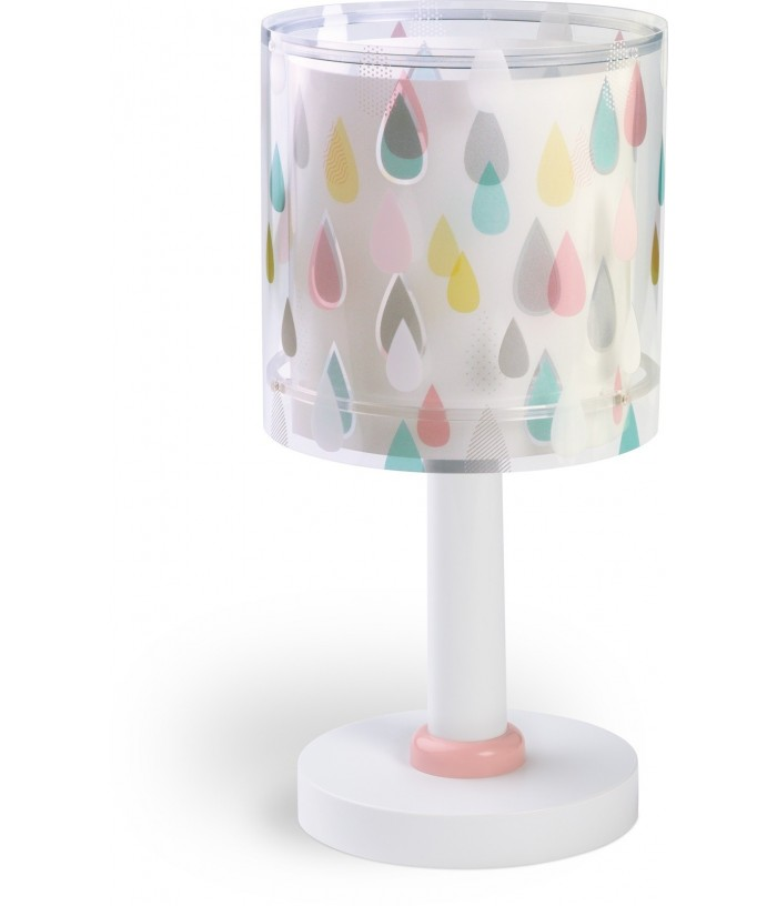 Lámpara Infantil de mesita de noche Color Rain