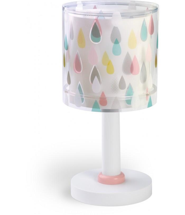 Candeeiro infantil de mesa Color Rain