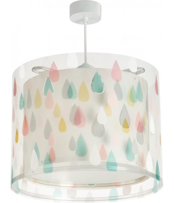 Luminária Pendente De Cor Rain