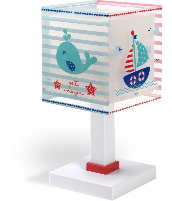 Lámpara infantil de mesa Petit Marin