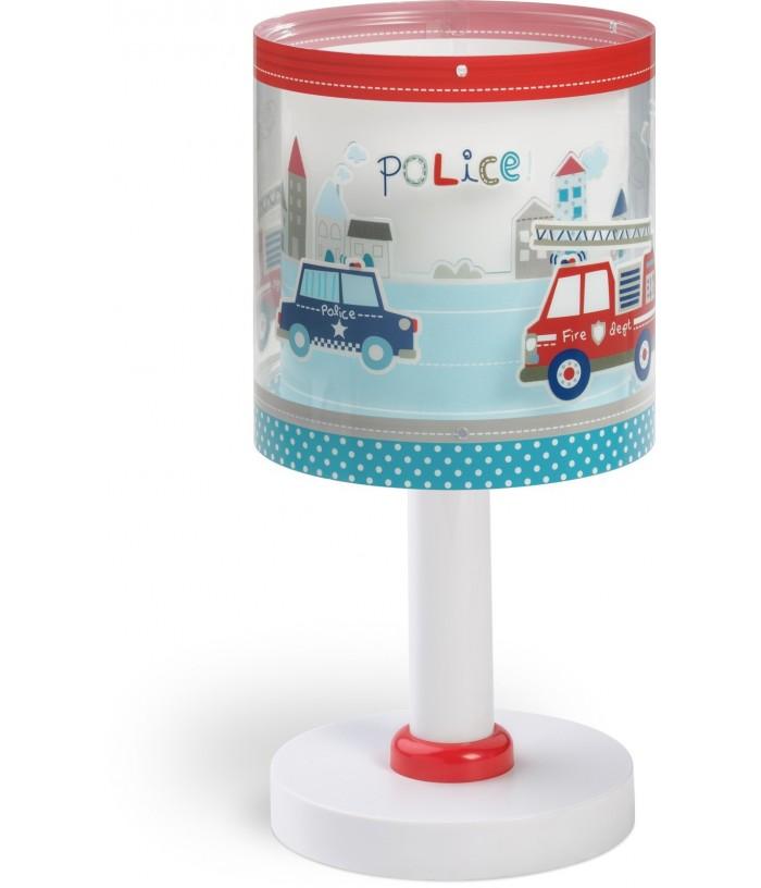 Candeeiro infantil de mesa Police