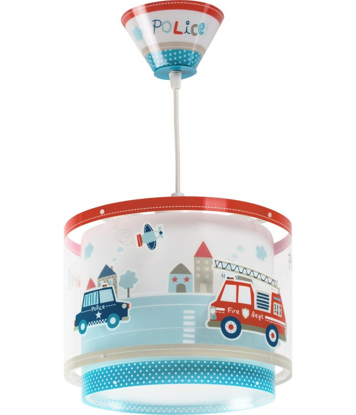 Hanging lamp for Children Police