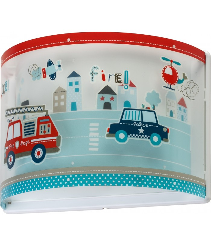 Aplique de pared Infantil Police