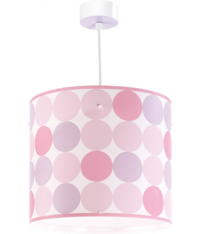 Children hanging lamp Colors pink