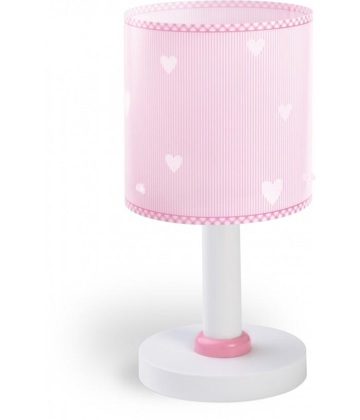 Candeeiro infantil de mesa Sweet Dreams rosa
