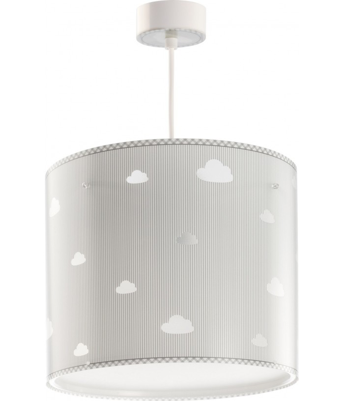 Children hanging lamp Sweet Dreams gray