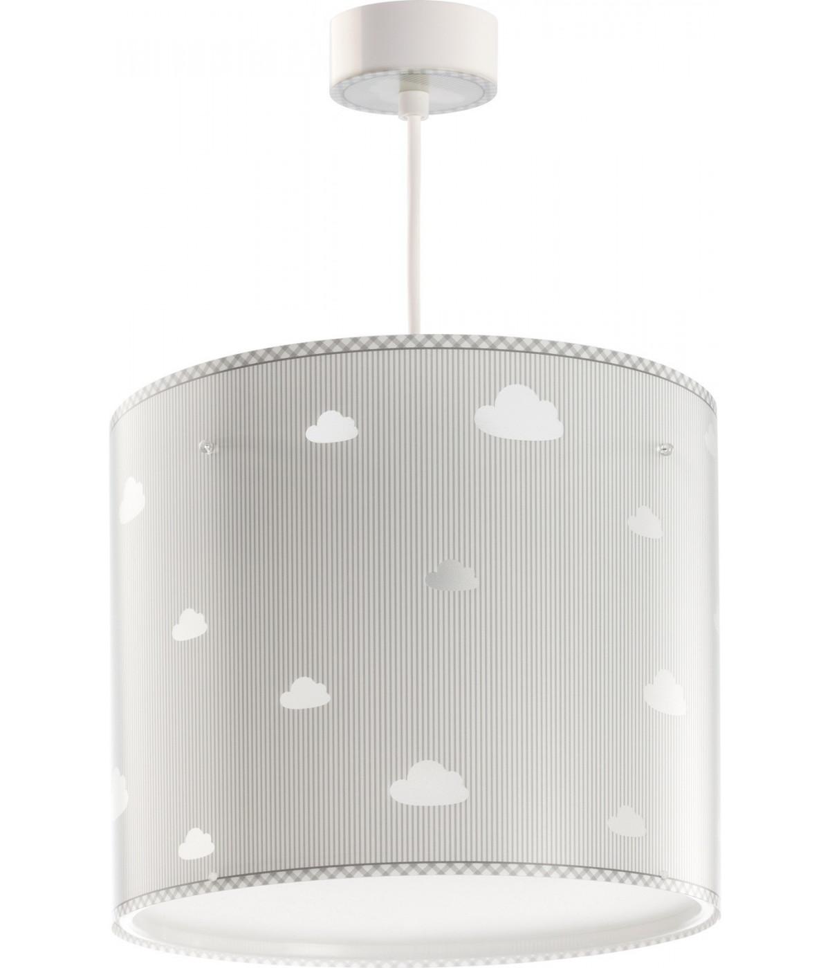 Hanging lamp for Kids Sweet Dreams grey