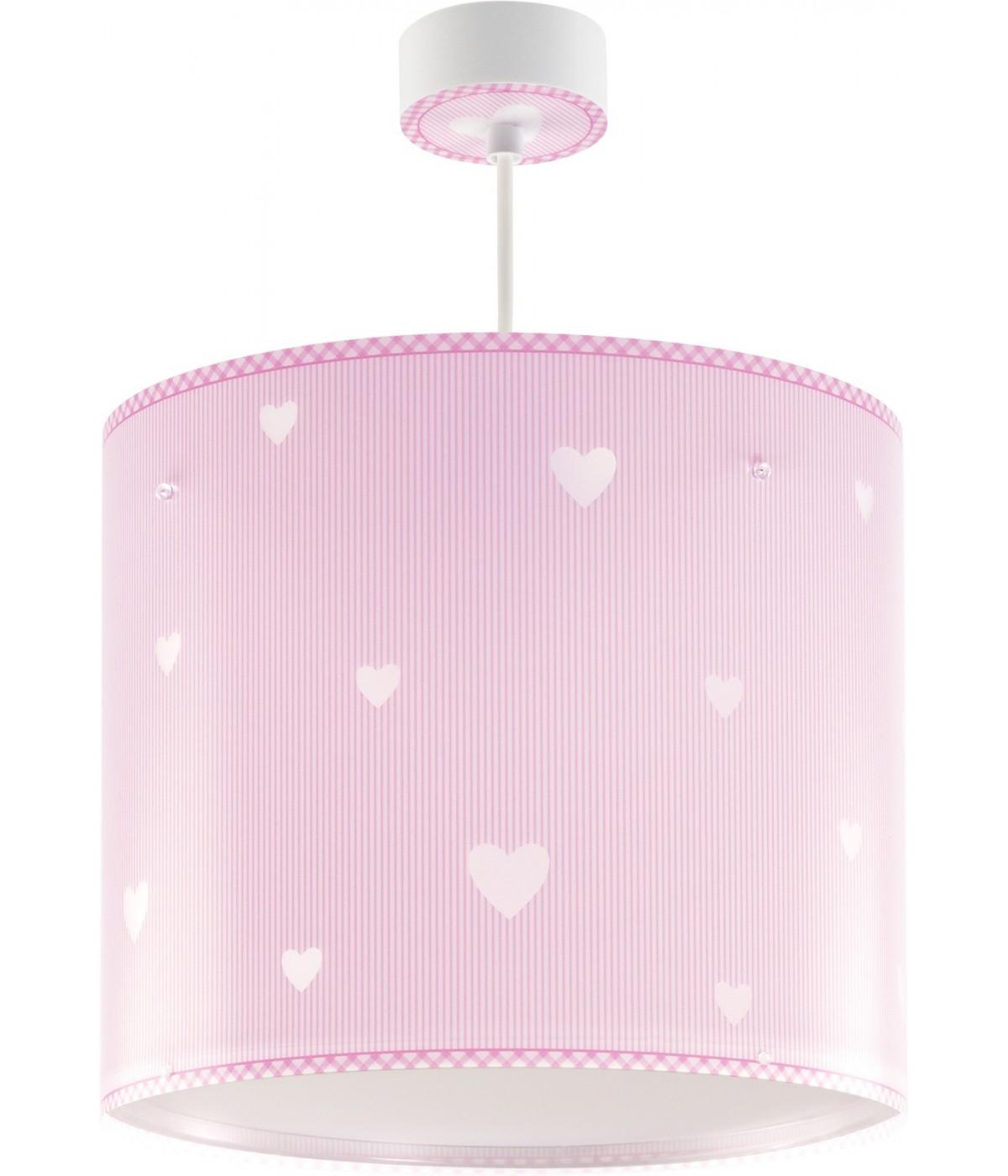 Candeeiro infantil de tecto Sweet Dreams rosa