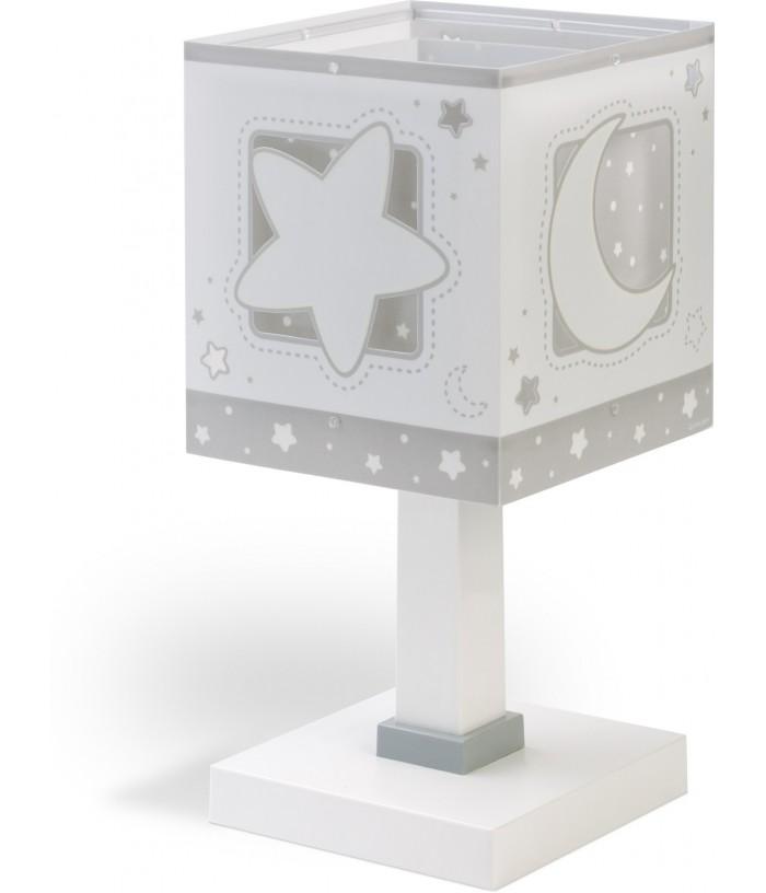 Lámpara Infantil de sobremesa Moonlight gris