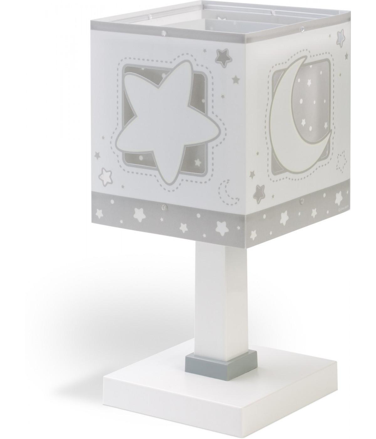 Lámpara de escritorio Infantil Moonlight Gris