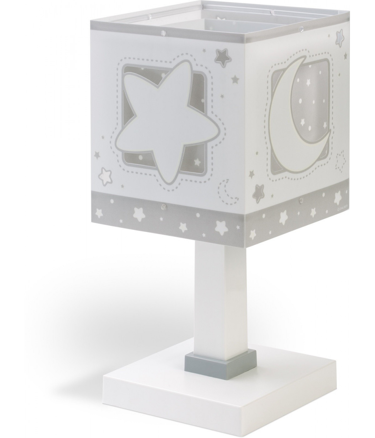 Table lamp for Children Moonlight grey