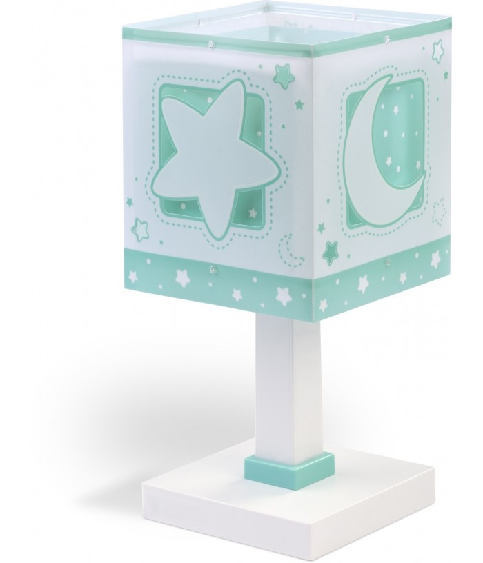 Table lamp Moonlight for Kids green