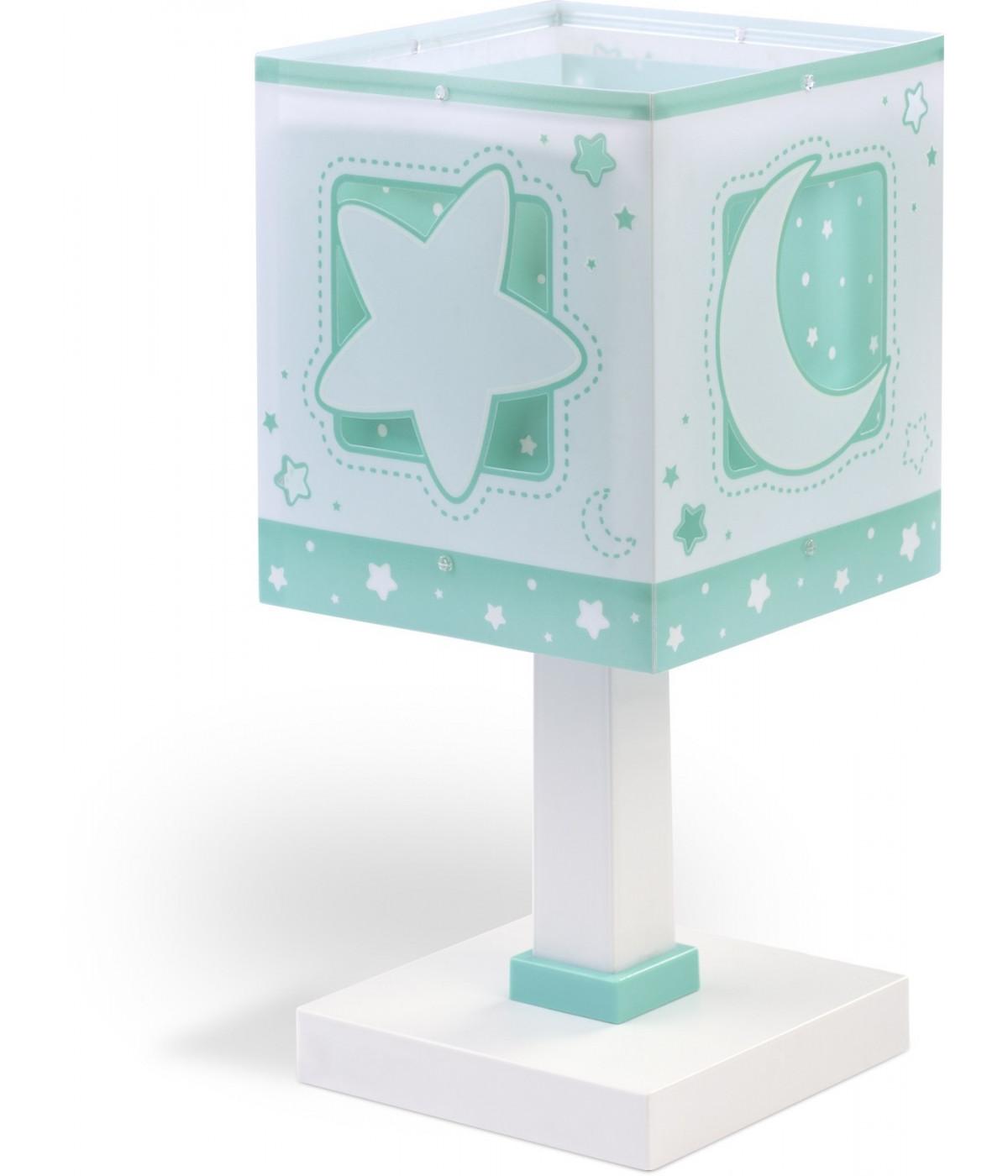 Lámpara Infantil Sobremesa Moonlight Verde