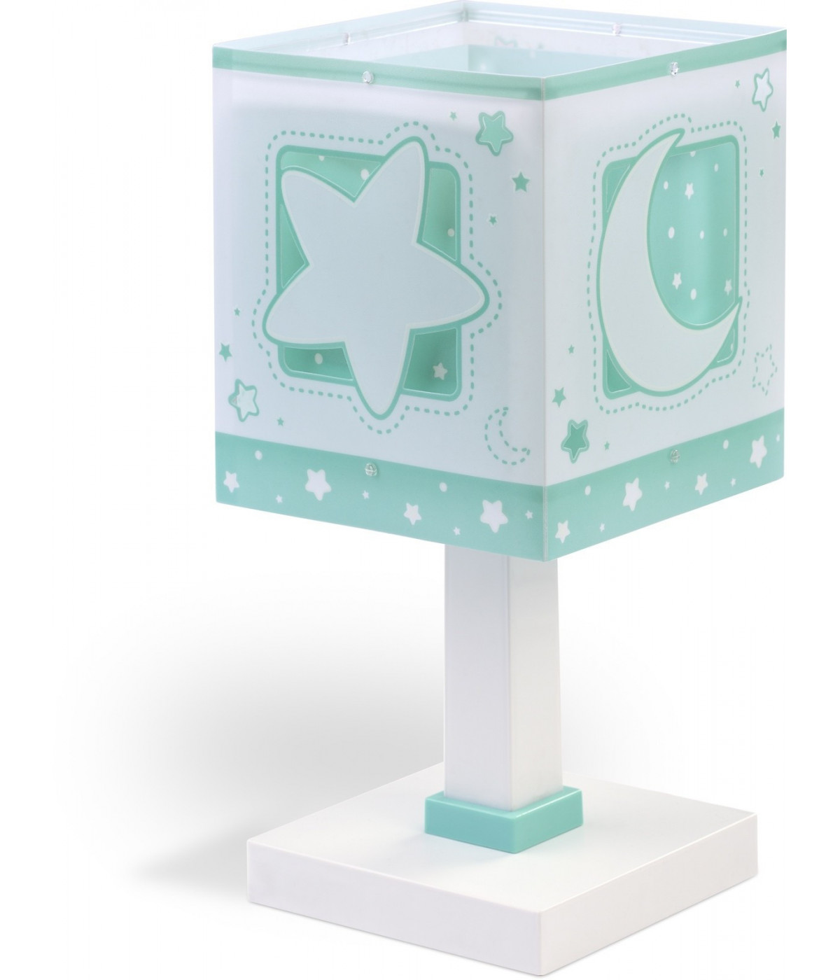 Table lamp Moonlight for Kids green