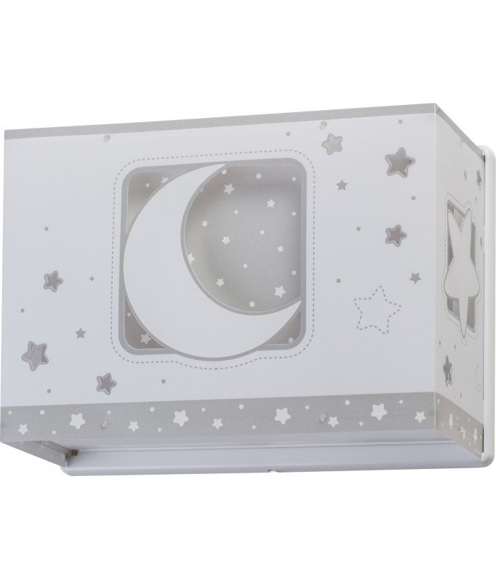Wall lamp for Kids Moonlight grey
