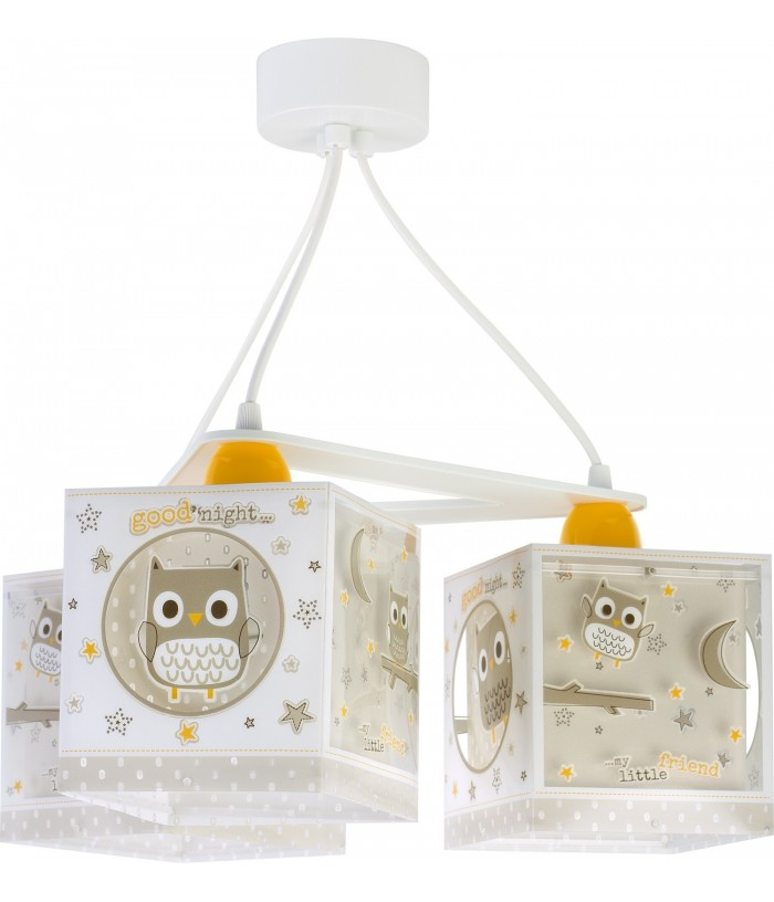Lámpara de techo para bebé 3 luces Good Night