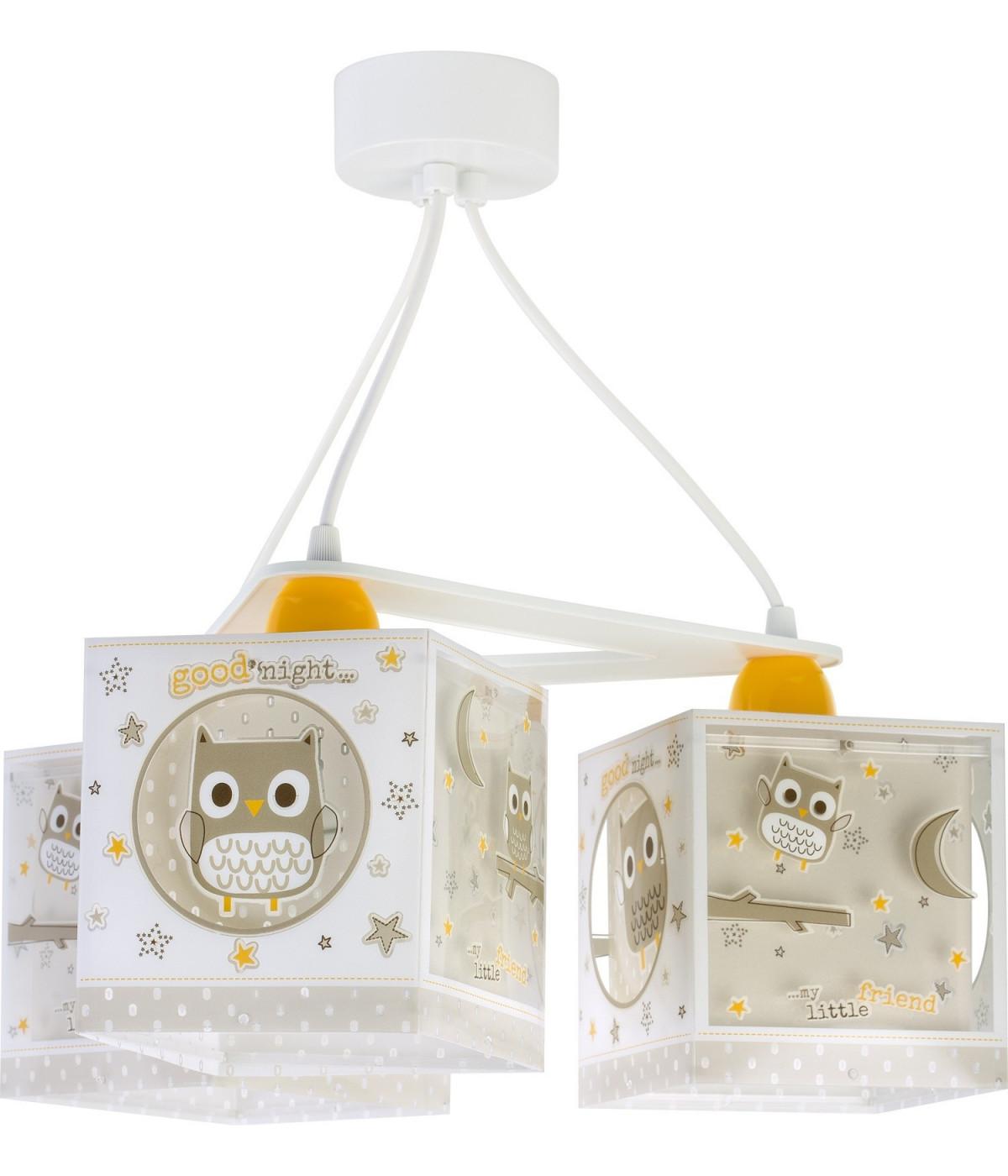 3 Light Hanging Lamp For Children Good Night Dalber