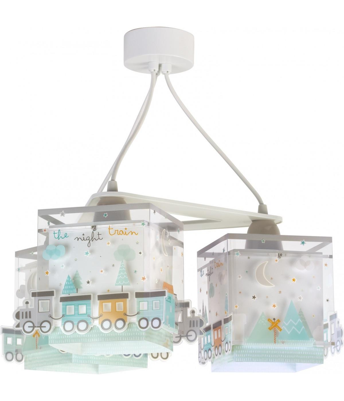 Lámpara de techo Infantil 3 Luces The Night Train