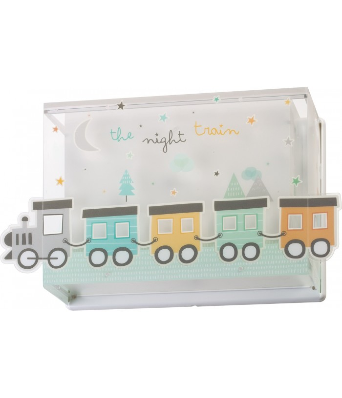 Aplique Infantil pared The Night Train
