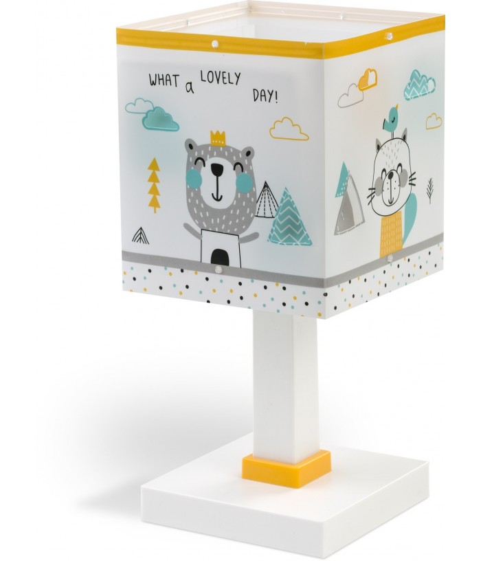 Table lamp for Children Hello Little