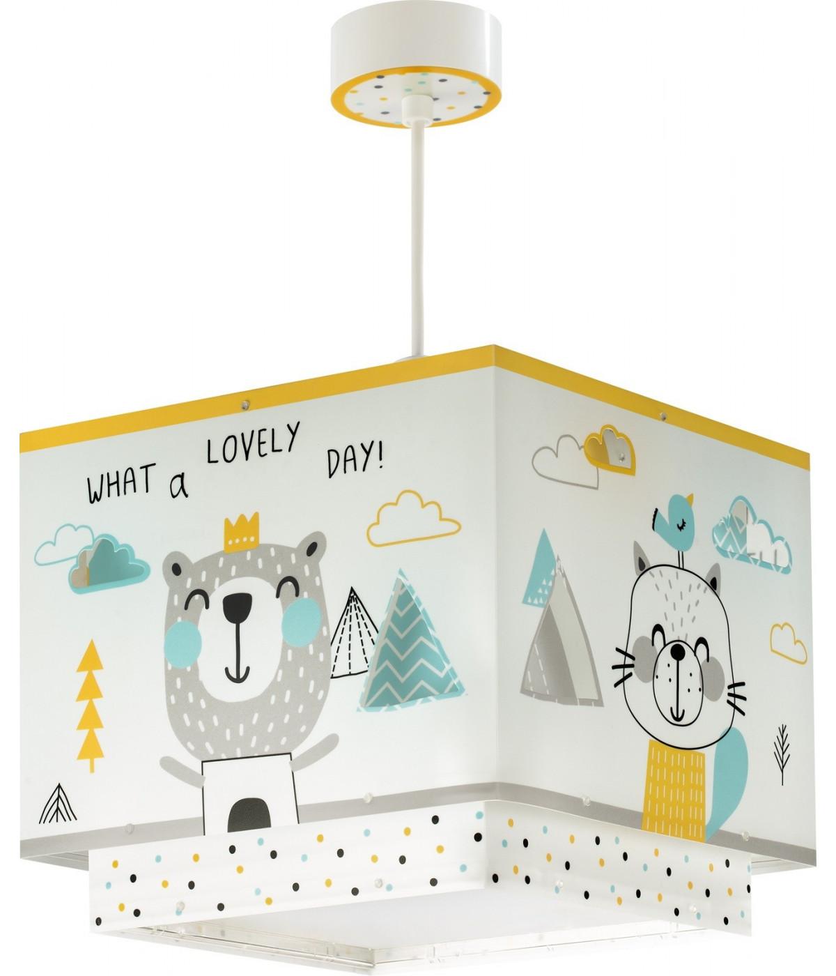 Lámpara Infantil de techo Hello Little