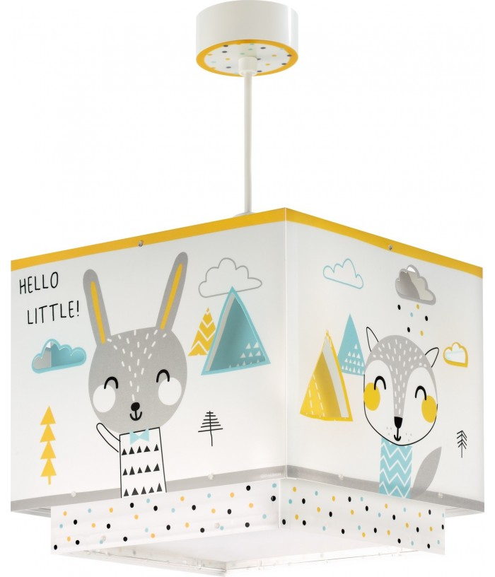 Candeeiro infantil de tecto Hello Little