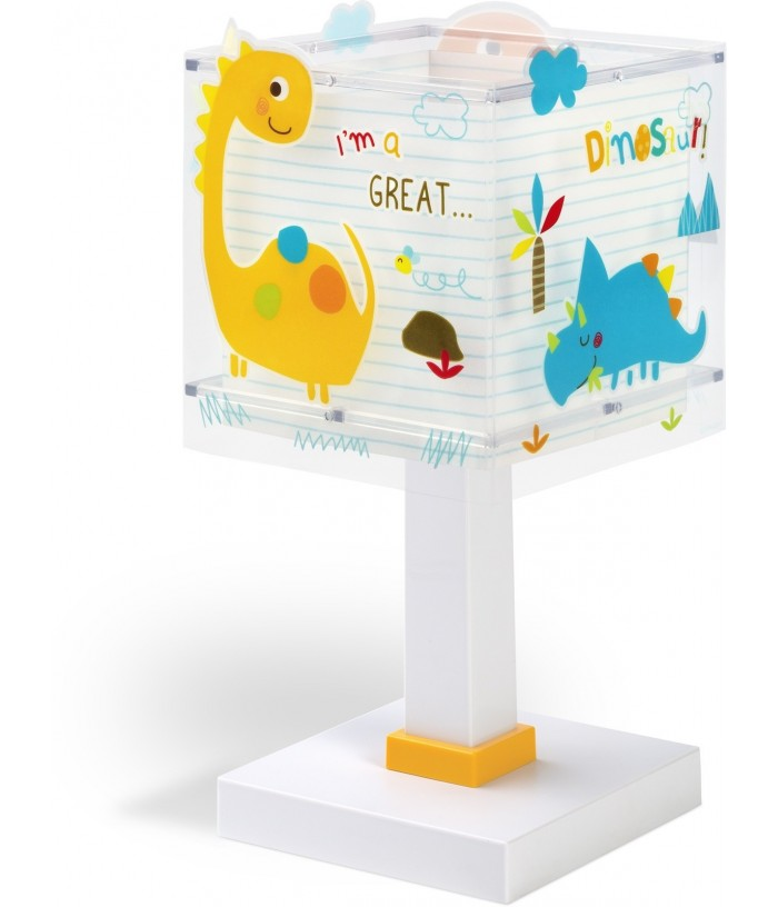 Table lamp for Kids Dinos