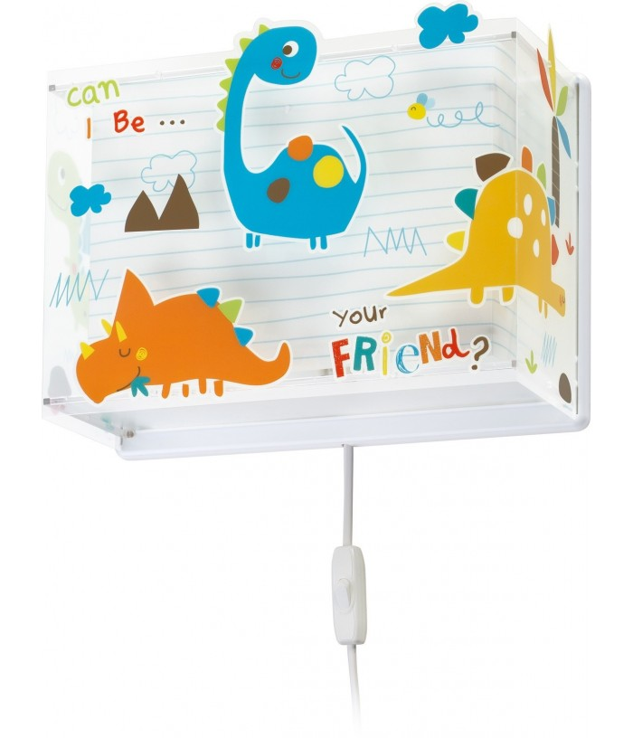 Wall lamp for Kids Dinos