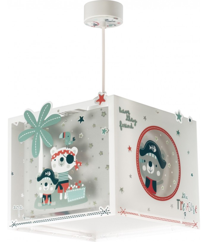 Hanging lamp for Kids The Pirates