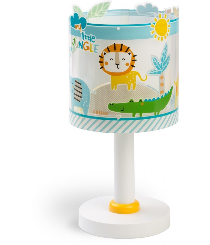 Candeeiro Infantil De Mesa Little Jungle