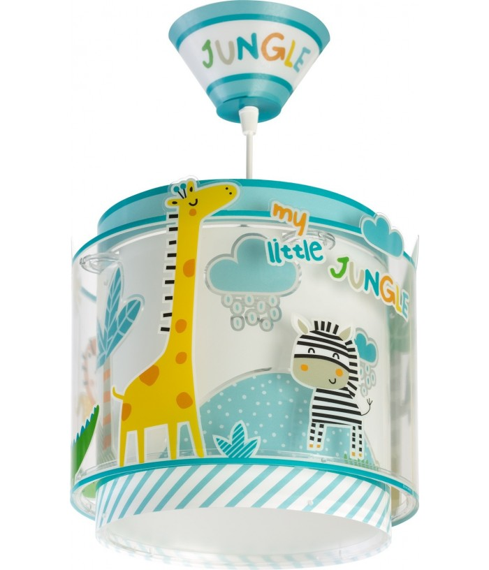 Luminária Infantil Pendente Little Jungle