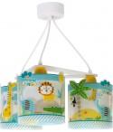 Children 3 light hanging lamp Little Jungle