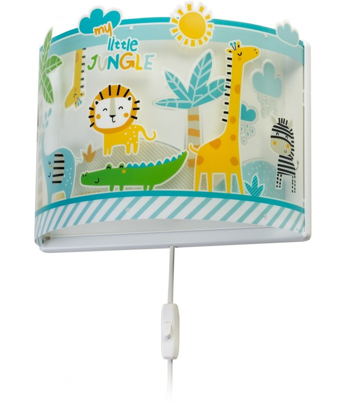 Aplique Infantil de pared Little Jungle