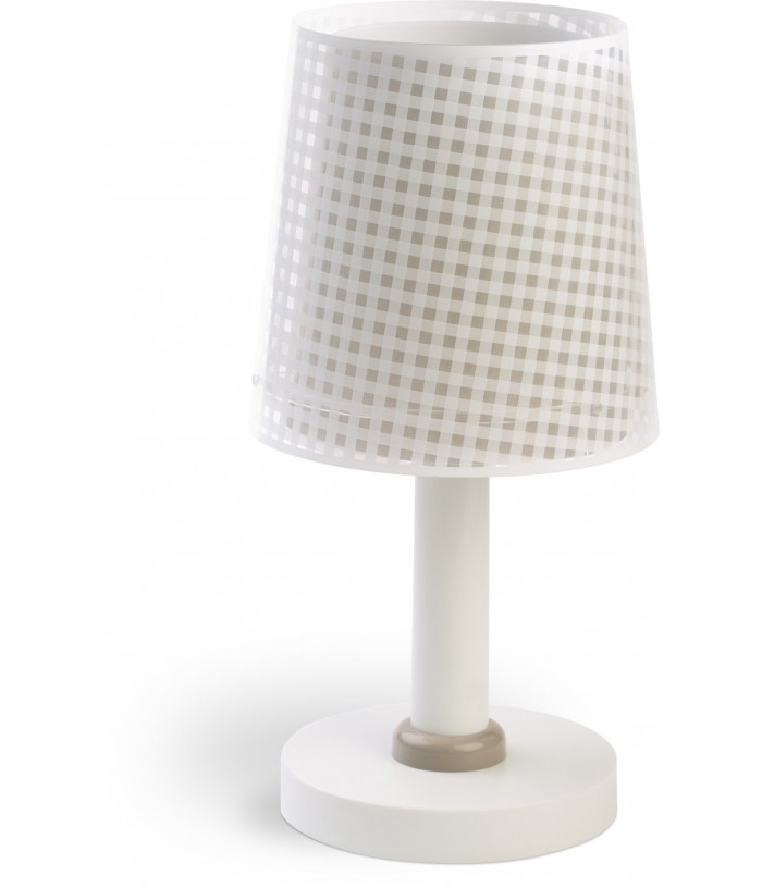 Table lamp Vichy light brown