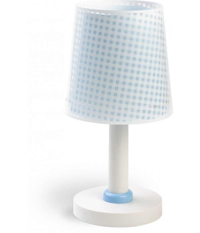 Table lamp Vichy blue