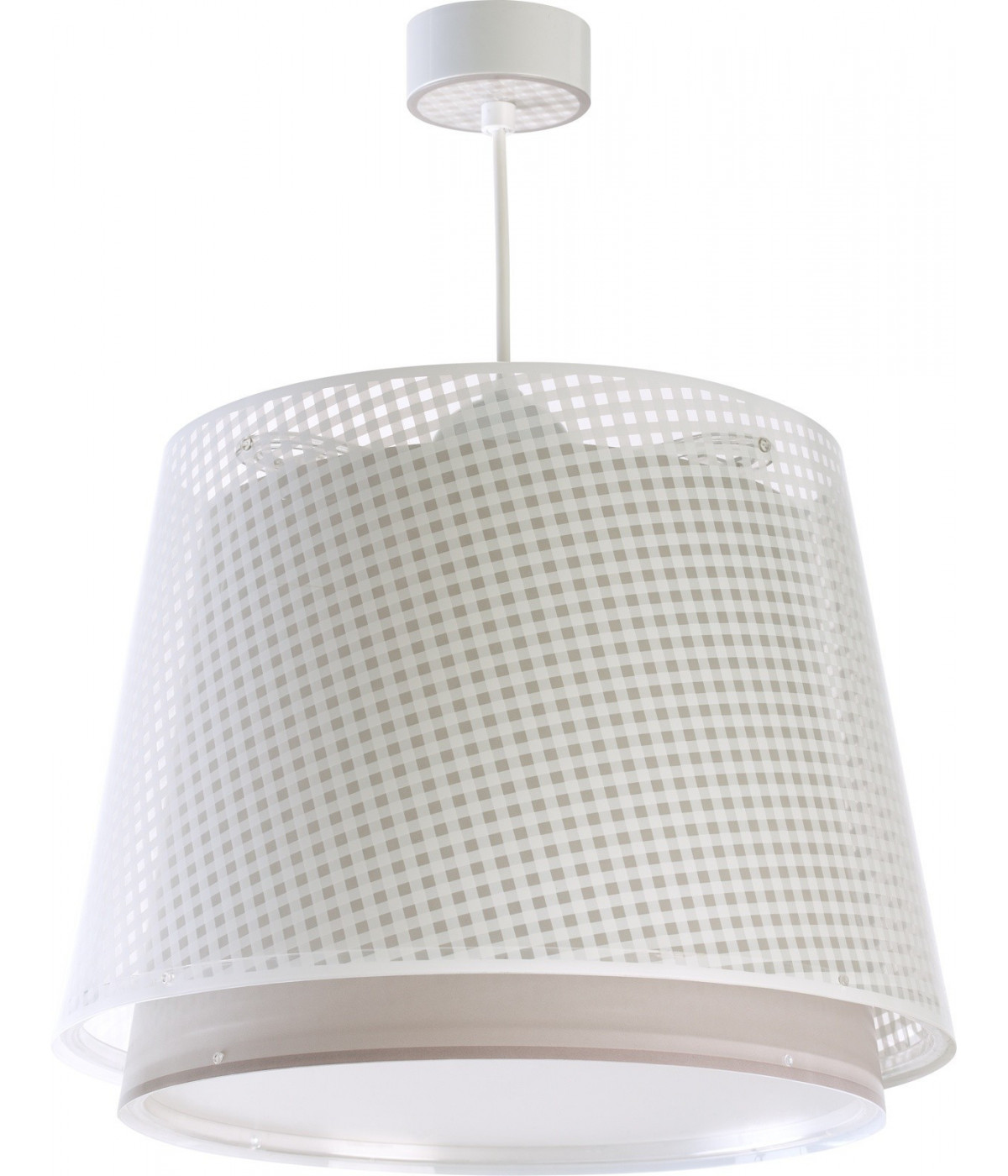 Hanging lamp for Kids Vichy light brown