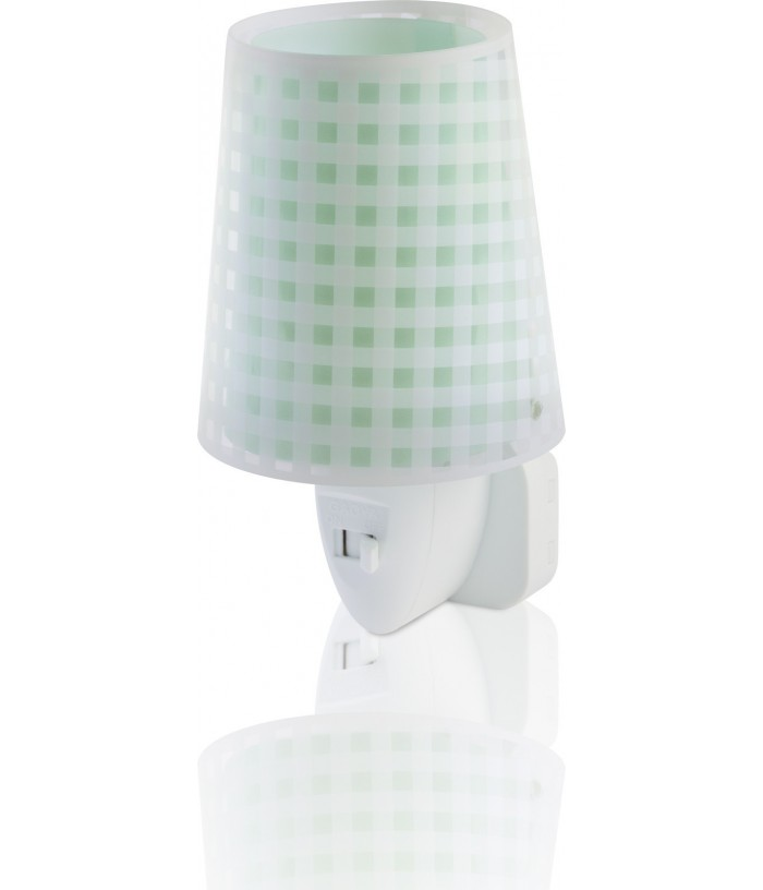LED Nightlight Vichy green