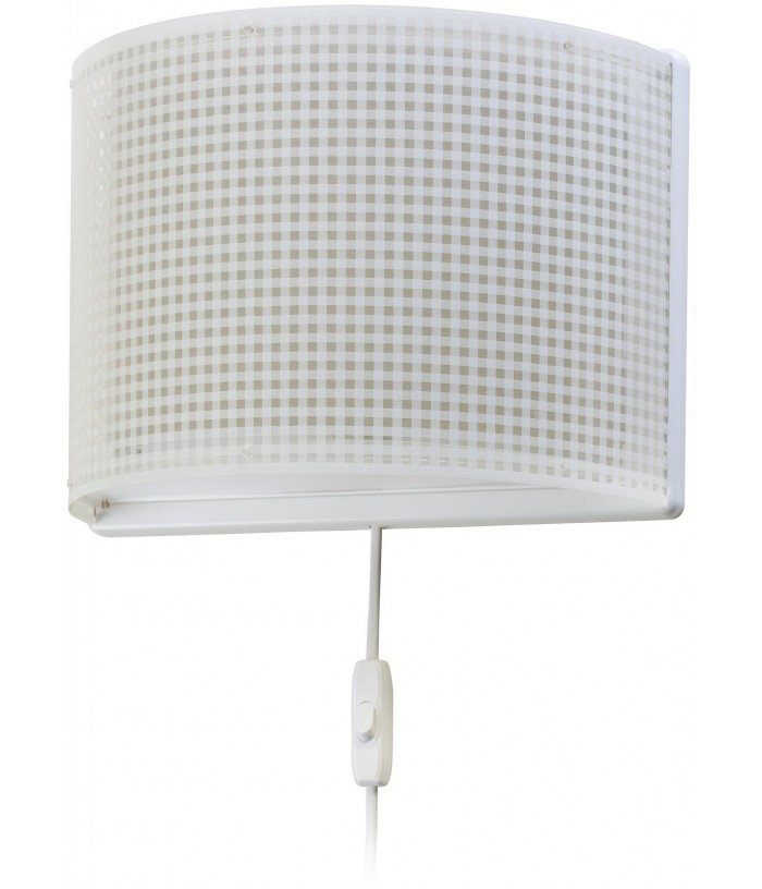 Wall lamp Vichy Beig