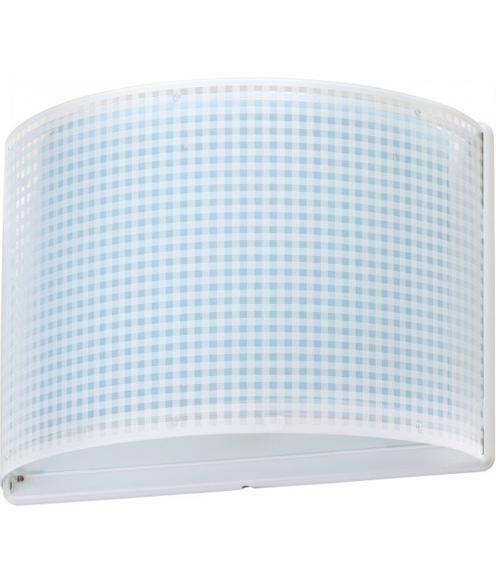 Wall lamp for Children Vichy blue