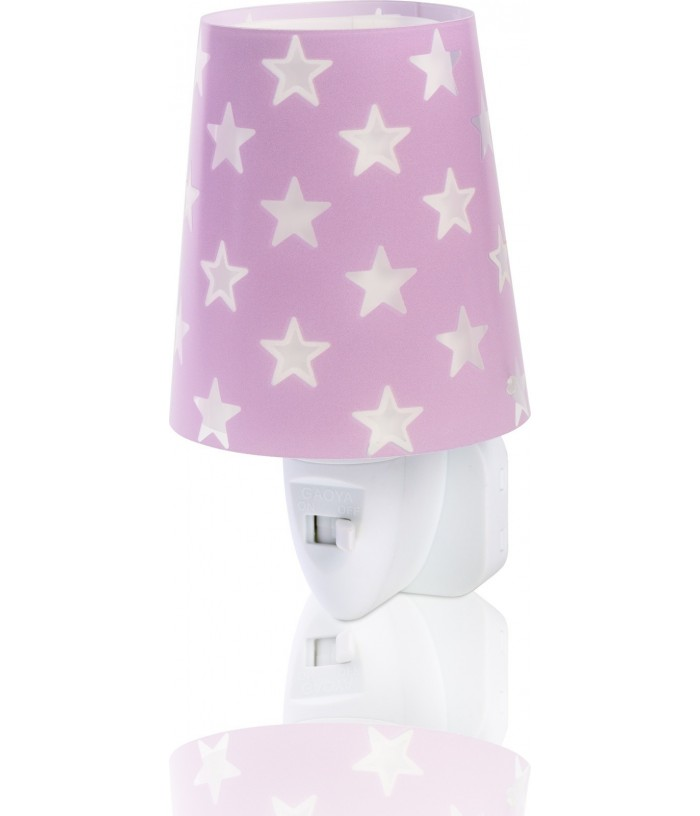 Children LED Nightlight Stars purple