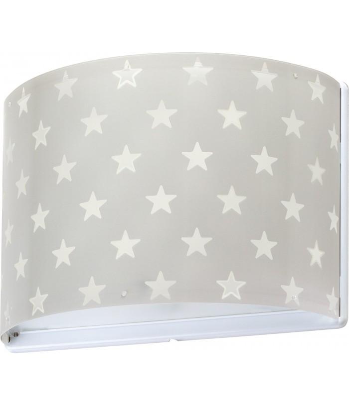 Arandela de parede Stars cinza