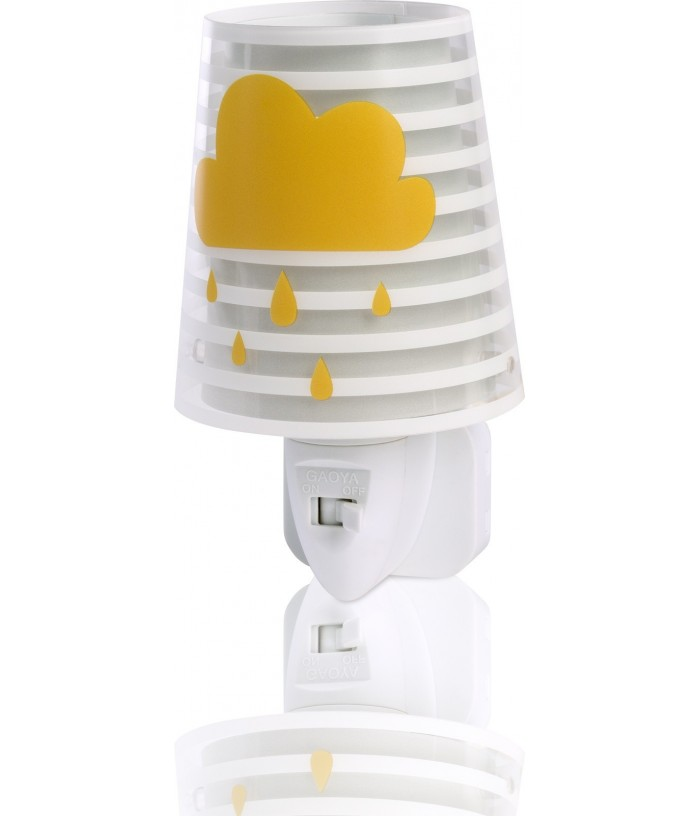 Kids Led Nightlight Light Feeling grey