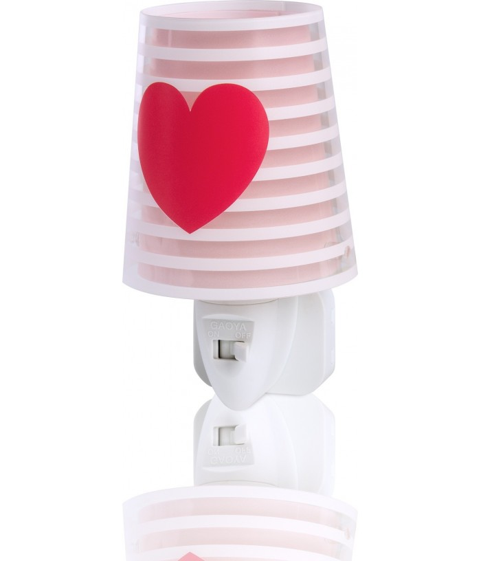 Lámpara Infantil de noche LED Light Feeling rosa