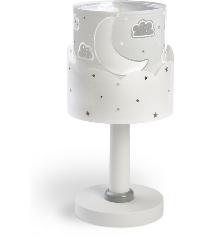 Lámpara Infantil de escritorio Moon gris