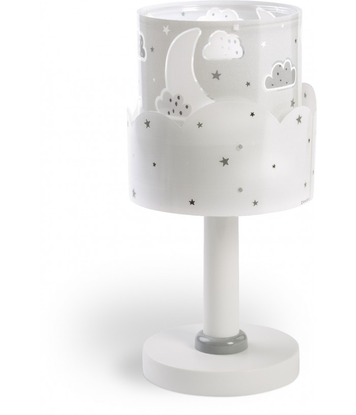 Table lamp for Children Moon gray