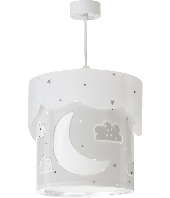 Hanging Lamp Moon Grey